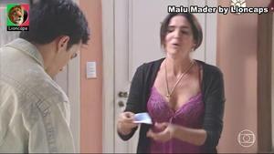 Malu Mader sensual na serie Justiceira e na novela Sangue Bom