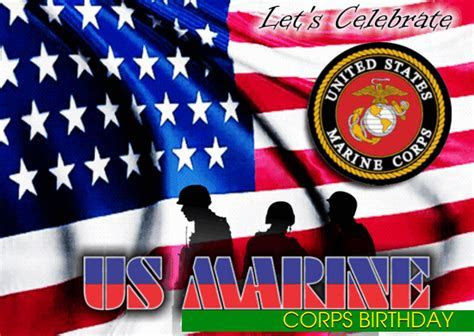 Celebrate US Marine Corps Birthday. Free Us Marine Corps