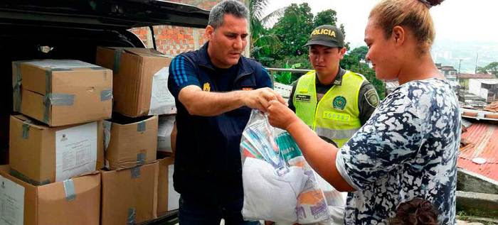 Asistencia humanitaria a 10 familias en Felidia y Tierra Blanca.