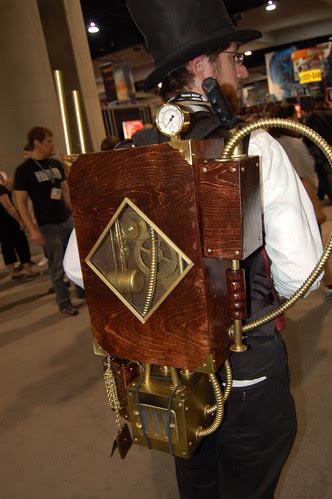 Comic Con 2007: Steam Tech