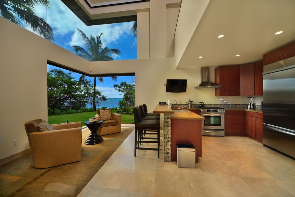 Hawaiian Style Kitchen Design
