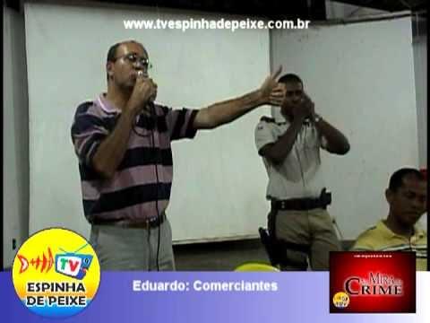 WEB TV ESPINHA DE PEIXE - NA MIRA DO CRIME - EDUARDO - MOTOTAXISTA -  Capitão Marcelo XIQUE-XIQUE-BA