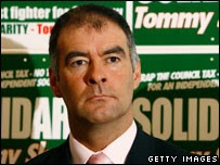 Tommy Sheridan - tanned god of Glasgow