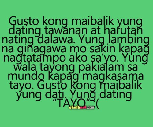Love Quotes For Ex Girlfriend Tagalog quotes love