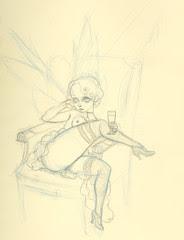 Absinthe Fairy Sketch