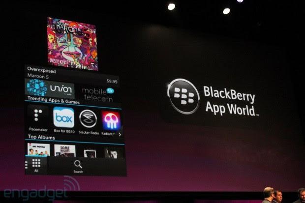 Anúncio de novidades do App World foi feito em evento nesta terça (Foto: Engadget)