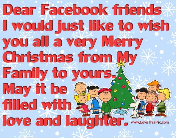 Merry Christmas Facebook Friends Pictures Photos And Images For