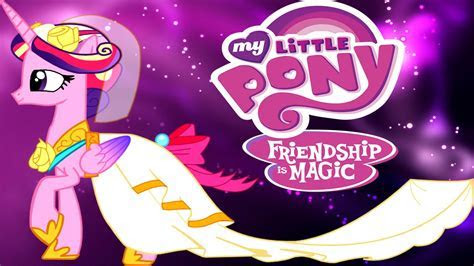 My Little Pony Canterlot Wedding Dress Up   Wedding