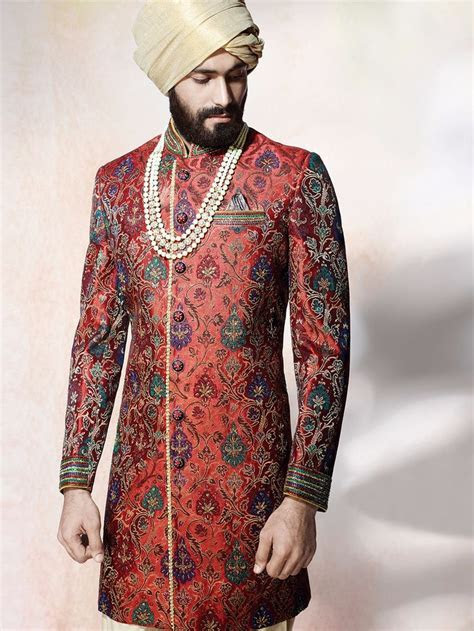 indo western wedding dress male   Wedding