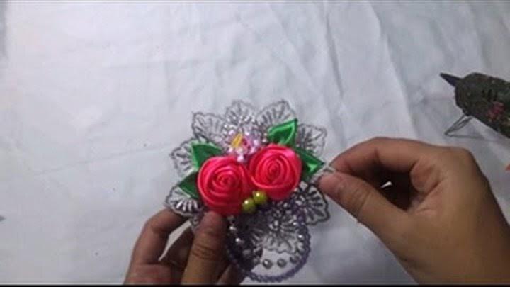 Gambar Bunga Anggrek Dari Kain Perca Gambar Bunga