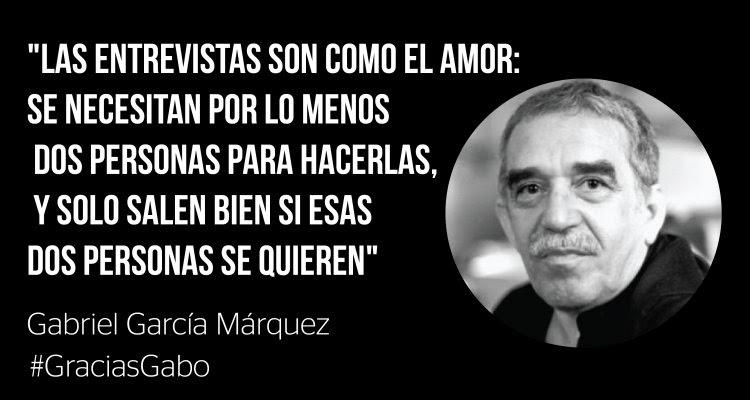 Once Frases Para Recordar A Gabo Clases De Periodismo