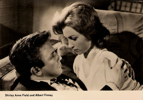 Albert Finney, Shirley Anne Field
