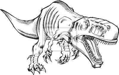 Ausmalbilder Dinosaurier Indominus Rex Kostenlose