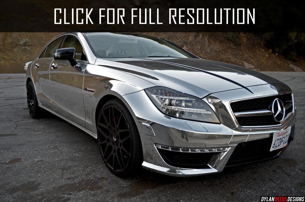 Mercedes Benz Cls 63 Amg V8 Biturbo - amazing photo ...