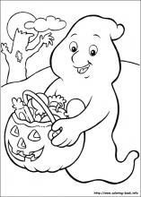 410 Coloring Pages For Halloween For Free