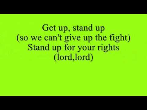 Bob Marley Get Up Stand Up Lyrics Meaning