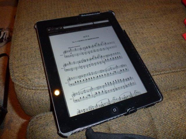 iPad for music HomeRome -410-530-2400