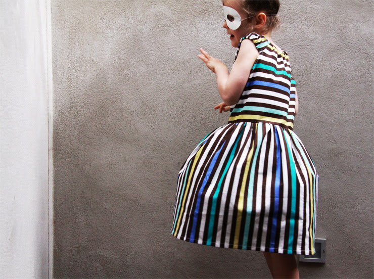 Stripey Dress 2