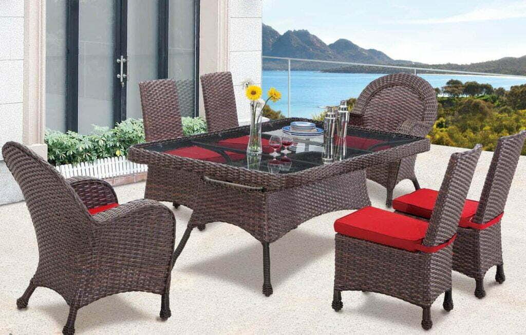 Wicker, Cast Aluminium, Fabrics & PVC Pipe Furniture ...
