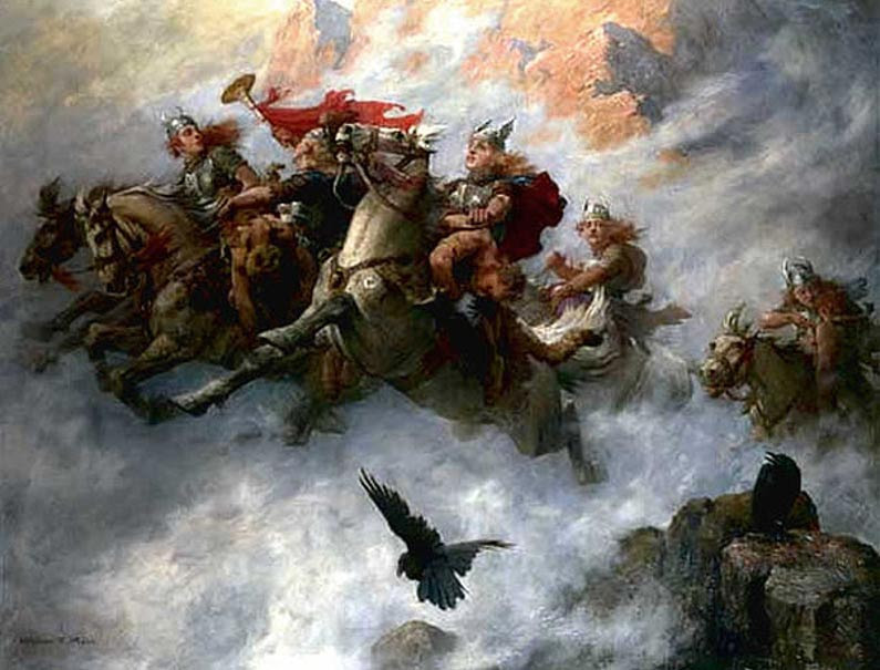 The Ride of the Valkyries (1890), William T. Maud