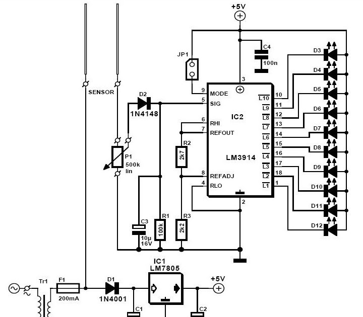 soil moisture meter circuit hp photosmart printer