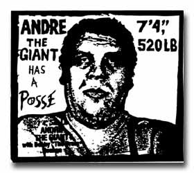Andre the Giant Has a Posse Sticker