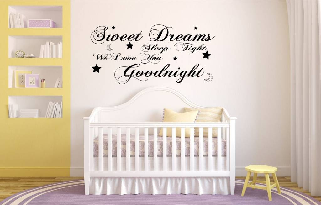 Sweet Dreams Sleep Tight We Love You Goodnight Qualitysticker