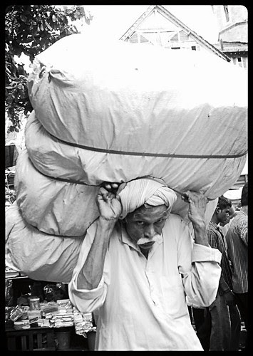 Luckily Uttar Pradesh Netas Dont Have To Carry Heavy Loads In Mumbai by firoze shakir photographerno1