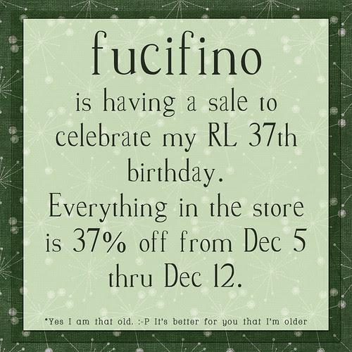 Fucifino Sale!!!!