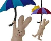 PDF Pattern Felt Bunny - YourCreativeTakeaway