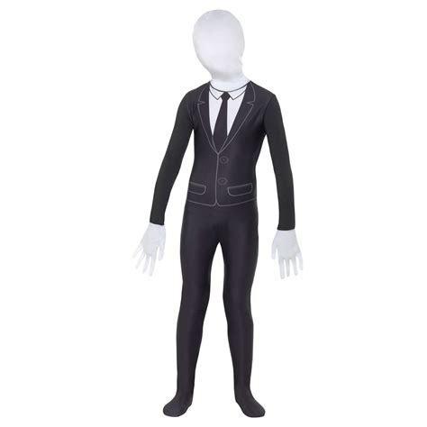 Supernatural Boy Black and White Slender Man Scary Kids