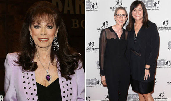 Jackie Collins' daughters pay tribute to mother