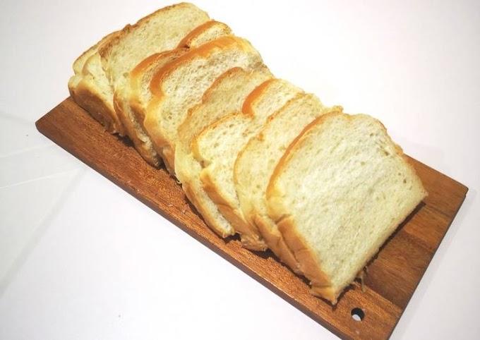 Cara Termudah Membuat Roti Tawar empuk Praktis