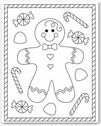 870 Colouring Pages Christmas Printable Images & Pictures In HD