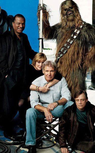 Will Lando Calrissian, Leia Organa, Han Solo, Luke Skywalker and Chewbacca reunite in STAR WARS: EPISODE VII? We'll see...