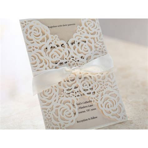 25  best ideas about Cricut wedding invitations on