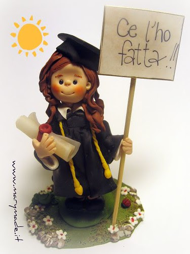 Cake Topper for a Graduation