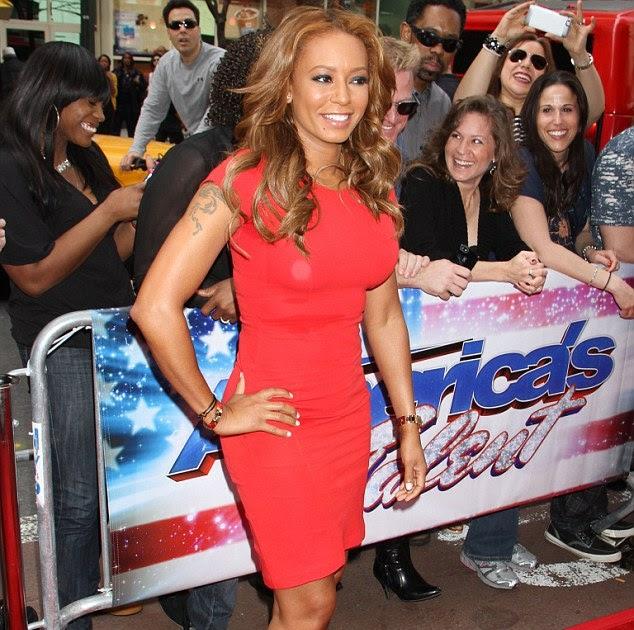 Americas Got Talent Judge Mel B Booed Again! Over Black