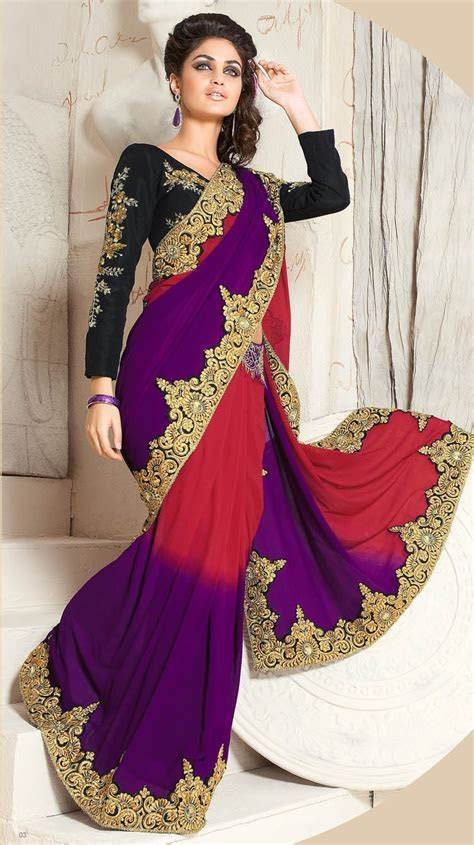 Bridal Sarees for Parties   Indian Bridal Party Wear