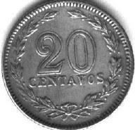 Moneda de veinte centavos (1921)