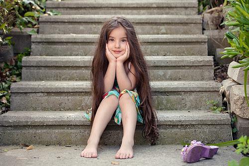 CeyLin-Smiling Girl por E.L.A