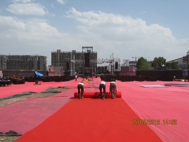 Preparation of a musical event - Visit Monarch Renaissance, 4 BHK 3 BHK & 2 BHK Flats at Wakad, Pune 411057