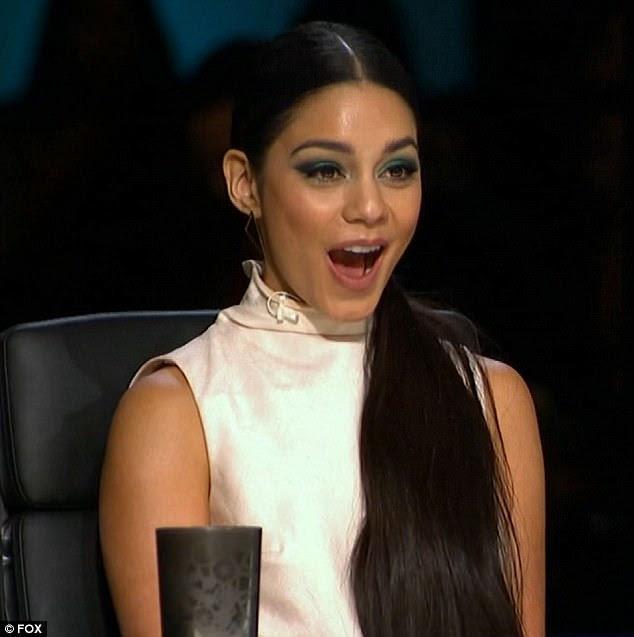 Nova adição: Vanessa Hudgens fez sua estréia como juiz segunda-feira em So You Think You Can Dance