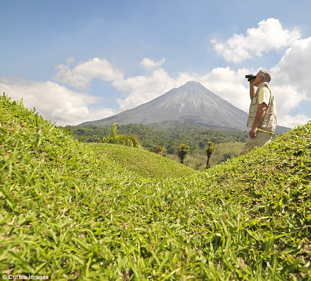 With scenery like the Arenal volcano, Costa Rica is the destination travellers would most recommend