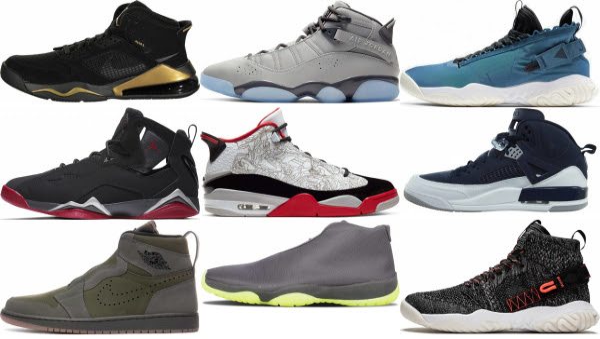 Air Jordan Shoes In The 90s