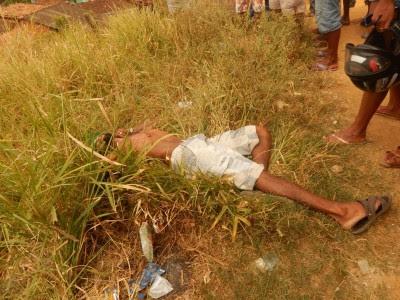 Crênio foi morto com tiros na costela Foto: Ubatã Notícias)