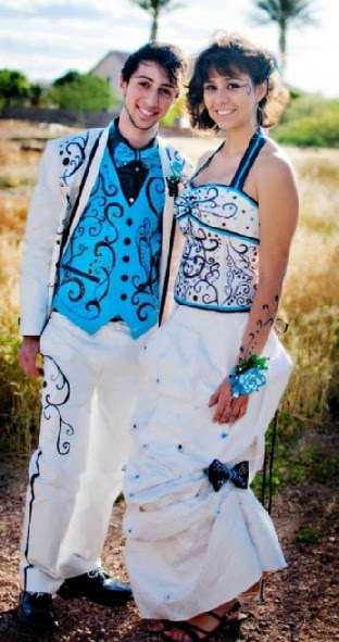 Robes De Mariee: Duct Tape Prom Dresses 2014