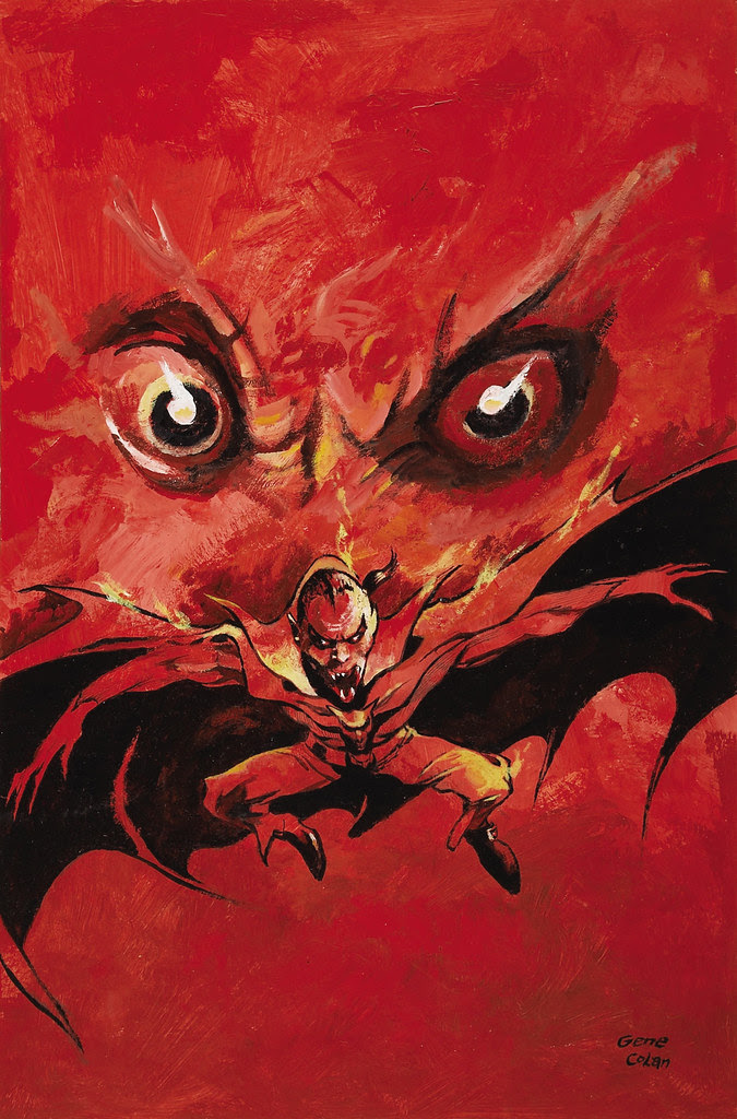 Gene Colan The Tomb of Dracula #4 (Third Series) Cover Painting Original Art (Marvel, 1992)