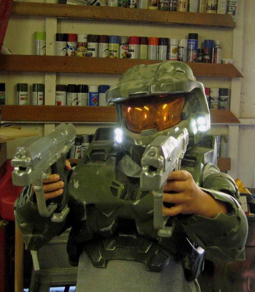 Skylar in my Armor
