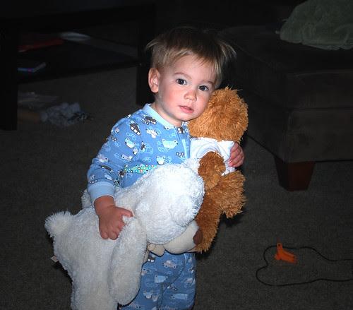 loves his bears